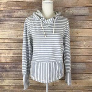 J. Crew Flip Striped Sweatshirt